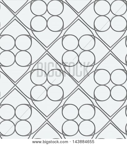 Perforated Squares And Circles