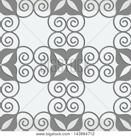 Perforated Swirly Grid With Four Foils