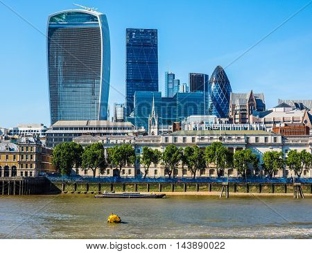 City Of London In London (hdr)