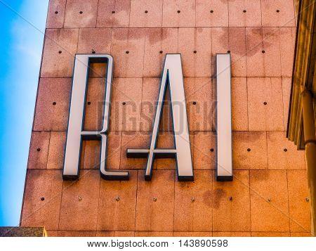 Rai Via Verdi Turin (hdr)