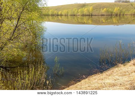 Spring Lake. Pond Spring