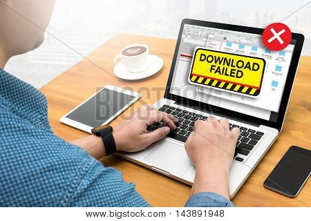 Computer Transfer  Download Failed Data Stop Loss Transfer Network Download