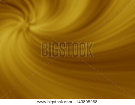 Abstract gold background blue smooth wave template holiday card.