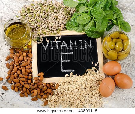 Natural Foods High In A Vitamin E.