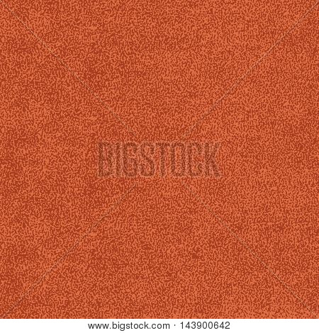 Brown texture with effect paint. Empty surface background with space for text or sign. Quickly easy repaint it in any color. Template in square format. Vector illustration swatch in 8 eps