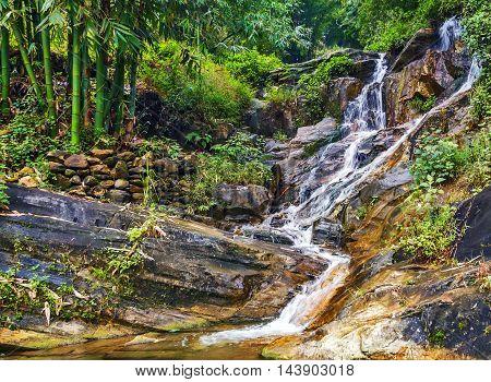 Waterfall Falls Sapa Vietnam