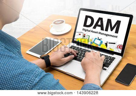 Dam Digital Asset Management Organization