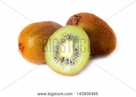 scene Image beautiful mature tropical fruit kiwi