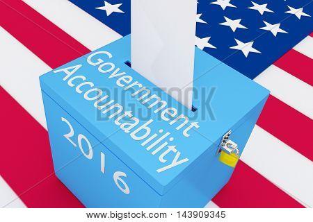 Government Accountability 2016 Concept