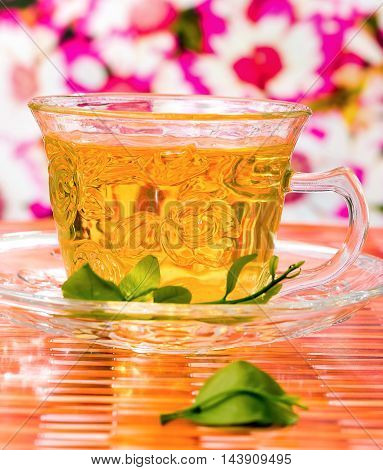 Chinese Healthy Tea Shows Refreshment Refreshing And Beverage