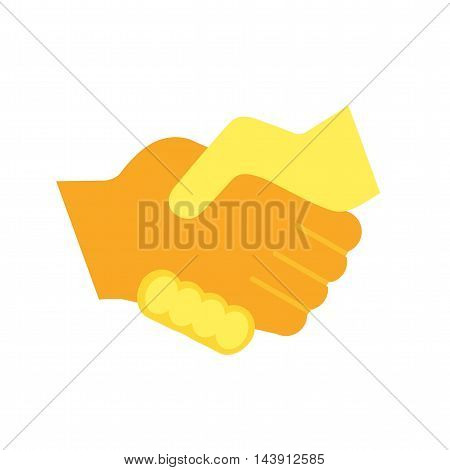 Handshake, business, people icon vector image. Can also be used for shopping. Suitable for use on web apps, mobile apps and print media.