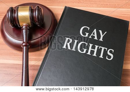 Gay And Homosexual Rights And Legislation Concept.