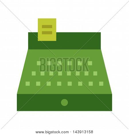 Cashier, bank, cash icon vector image. Can also be used for shopping. Suitable for web apps, mobile apps and print media.