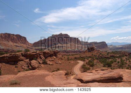 Southwest Desert Road