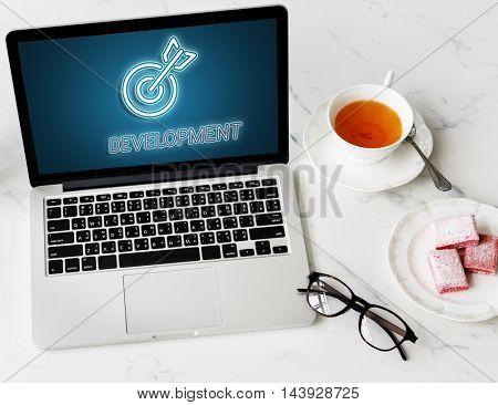 Target Mission vision Business Goal Aim Concept