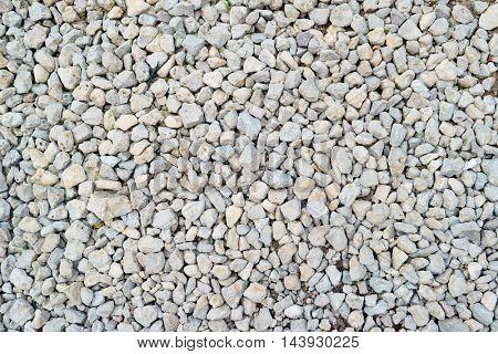 White gravel background texture