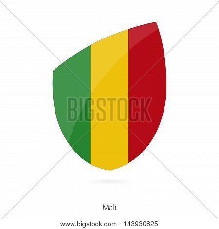 Flag Of Mali. Mali Rugby Flag.
