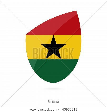 Flag Of Ghana. Ghana Rugby Flag.