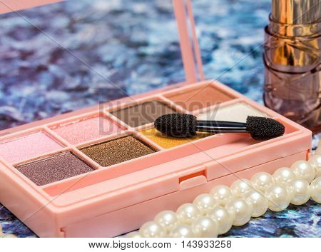Eye Shadow Shows Beauty Products And Eyes
