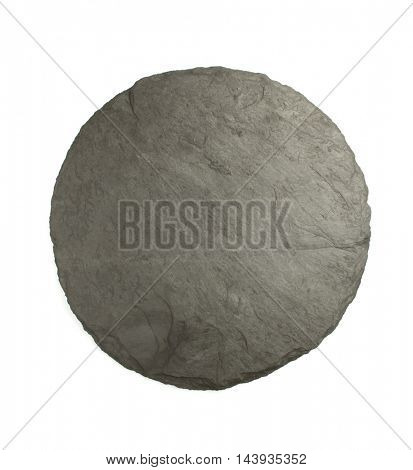 slate texture isolated on white background