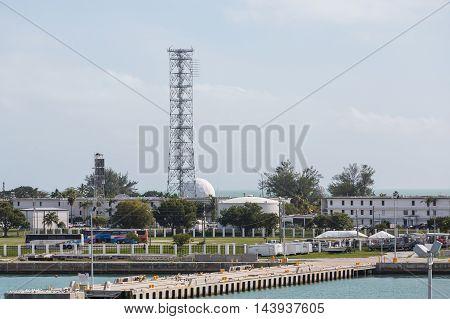 A modern Naval Base in Key West
