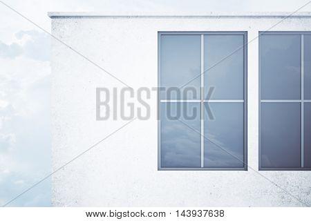 Concrete Building Exterior