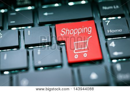 Shopping Enter Key high quality and high resolution studio shoot