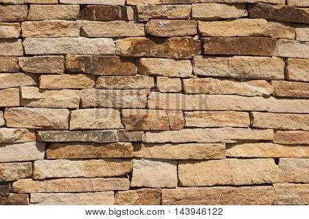 texture of old stone wall for background.