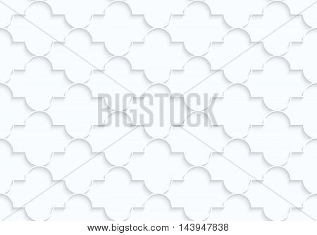 Quilling White Paper Horizontal Marrakech