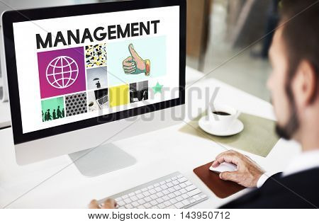 Management Planning Business Project Concept