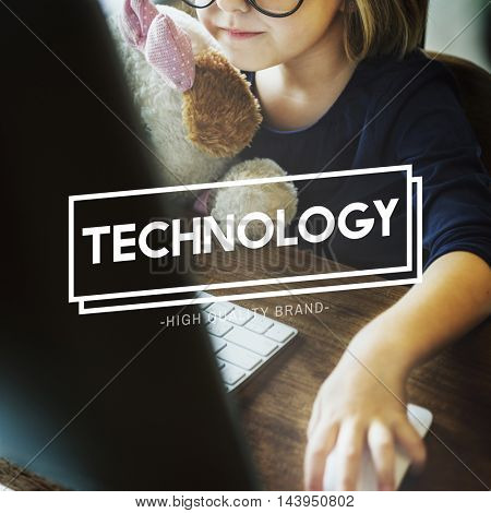 Technology Data Digital Evolution Internet Concept