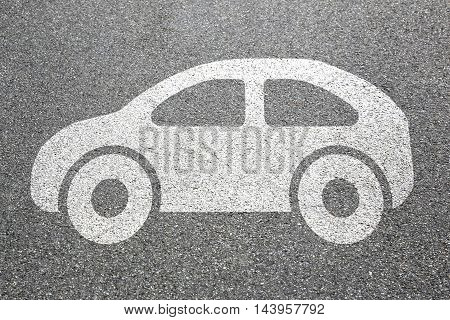 Car Vehicle Street Road Traffic City Mobility Pictogram