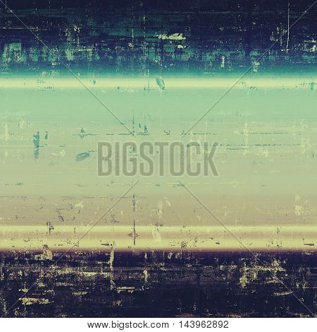 Retro vintage style background or faded texture with different color patterns: gray; blue; purple (violet); yellow (beige); cyan; black