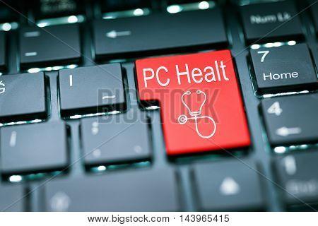 PC Healt Enter Key high quality and high resolution studio shoot