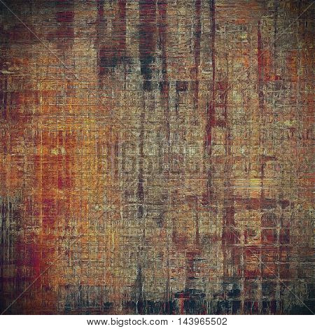 Elegant vintage background, antique texture. Designed grunge template with different color patterns: gray; red (orange); yellow (beige); brown; black; pink