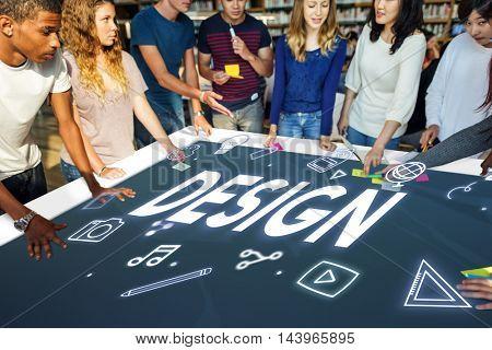Creative Ideas Design Imagination Innovation Concept