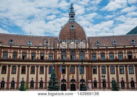 House of Prefecture in Brasov city in Romania