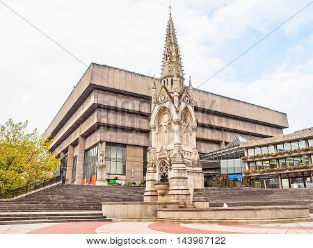 Birmingham Library Hdr
