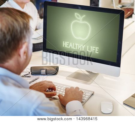 Computer Healthcare Concept
