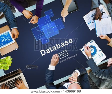 Database Network Technology Enter Concept