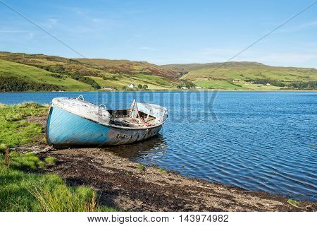 Loch Harport On The Isle Of Skye