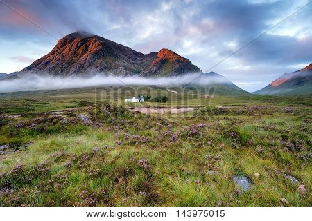 Sunrise At Glencoe