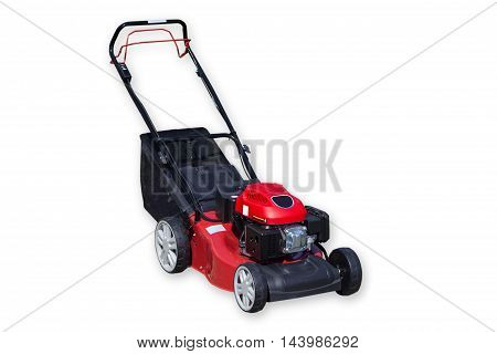 Picture from Lawnmower isolated on white background