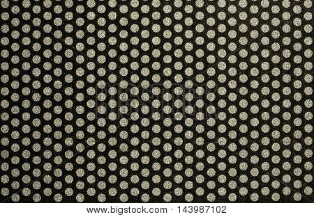 background pattern: black and white dot pattern for general graphic design or wallpaper with texture effect
