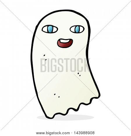funny cartoon ghost