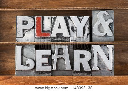 Play And Learn Tray
