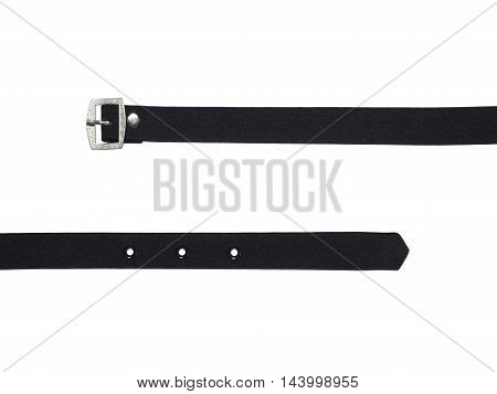 fashion accesory color fabric strap with metal buckle