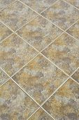 foto of ceramic tile  - Tiled floor can use for a backgrounds - JPG