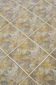 stock photo of ceramic tile  - Tiled floor can use for a backgrounds - JPG