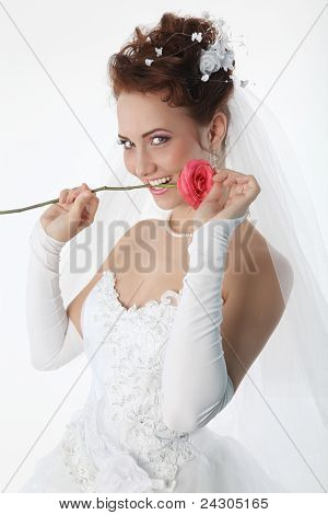 Bride And Rose